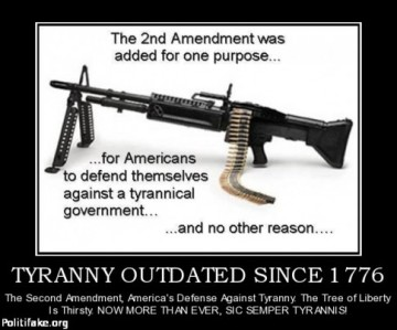 What's The Difference Between Tyranny And Democracy... A Military Grade Assault Weapon According To The NRA