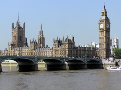 The UK Houses of Parliament. You will never find a more wretched hive of scum and villainy.