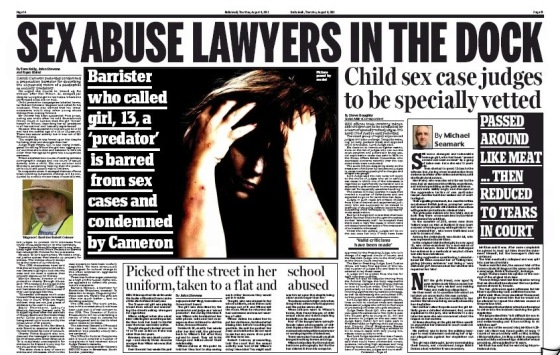 Sex Abuse Lawyers In The Dock