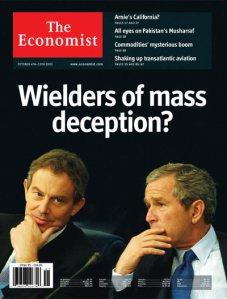 Wielders of Mass Deception The Economist