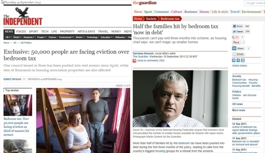 Lots of Evidence Against: Two Surveys Covering 200,000 people & Raquel Rolnik's report - so where's the evidence for the bedroom tax?