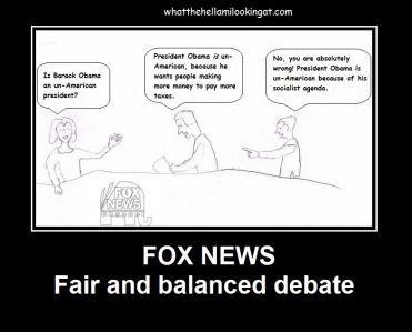 FoxNews Fair and Balanced
