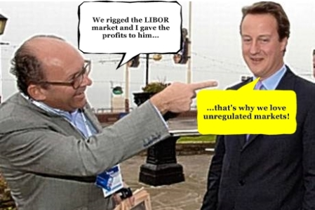 Michael Spencer David Cameron Text Balloons