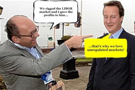 Michael Spencer David Cameron Text Balloons