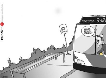 Obama Syria Bus
