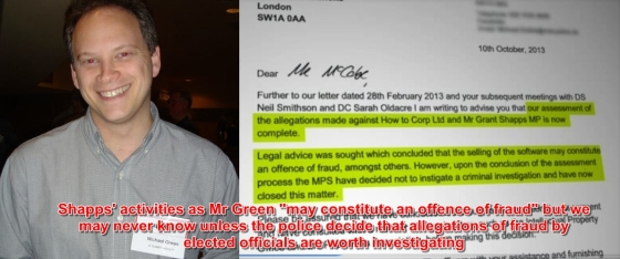 Is this the true quid pro quo for plebgate?