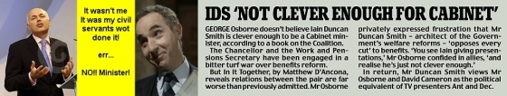 """Not clever enough"": IDS is an unmitigated disaster and a ministerial failure"