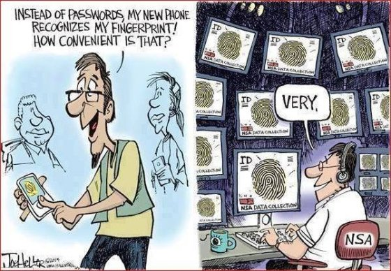 NSA PRISM 2 Cartoon