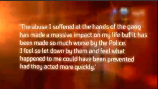 Rochdale Abuse Victim Cant Trust The Police