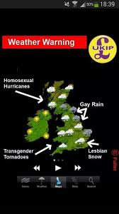 UKIP Weather Warning