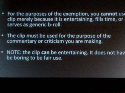 Fair Use Presentation