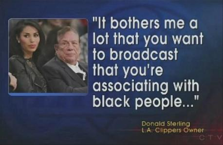 Donald Sterling bothered by black people