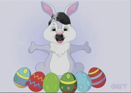 Hitler Easter bunny