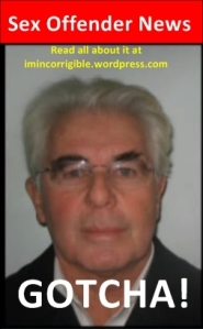 Max Clifford Police Mugshot GOTCHA read all about it