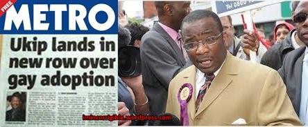 Winston McKenzie: UKIP candidate and homophobe