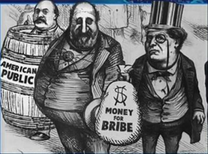 Poltical bribery in the US