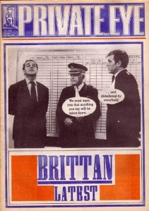 Leon Brittan Private eye