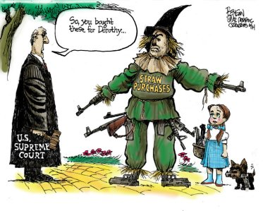 SCOTUS straw gun purchases