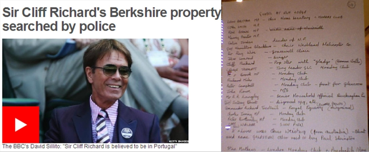 "Cliff Richard child abuse allegation: Police media tactics ""subvert due process"" (video)"