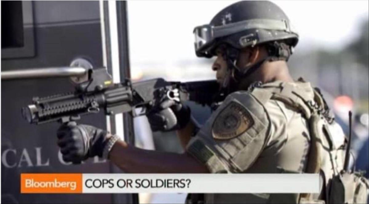 America's militarised police are out of control (video)