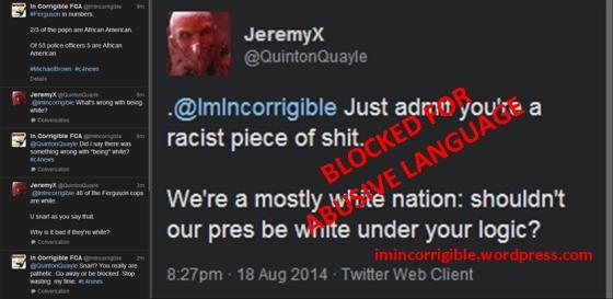 Racist America Tweets