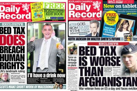 Bedroom-tax breaches human rights