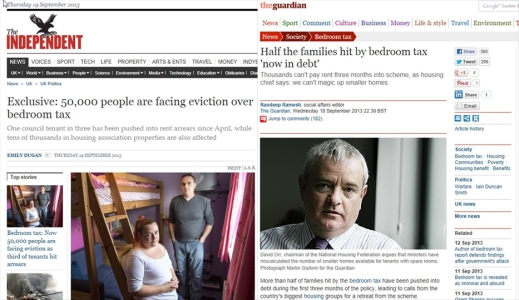 Bedroom Tax Guardian and Independent