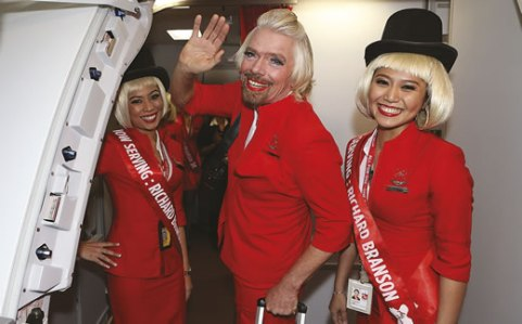 Branson business stunt transvestite