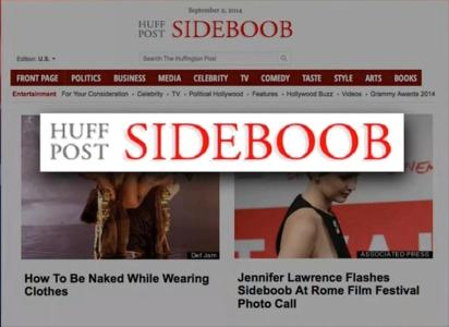 Huff Post Sideboob