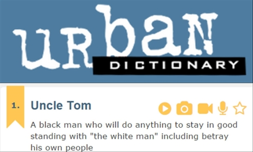 Urban dictionary vert Uncle Tom