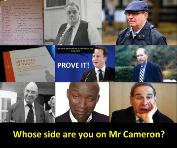 Whose side image and text CSA Cameron