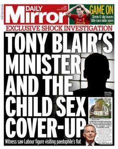 Tony Blair csa cover up daily mirror