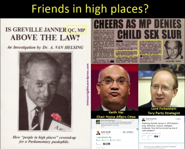 Greville Janner Vaz Fink Friends In High Places
