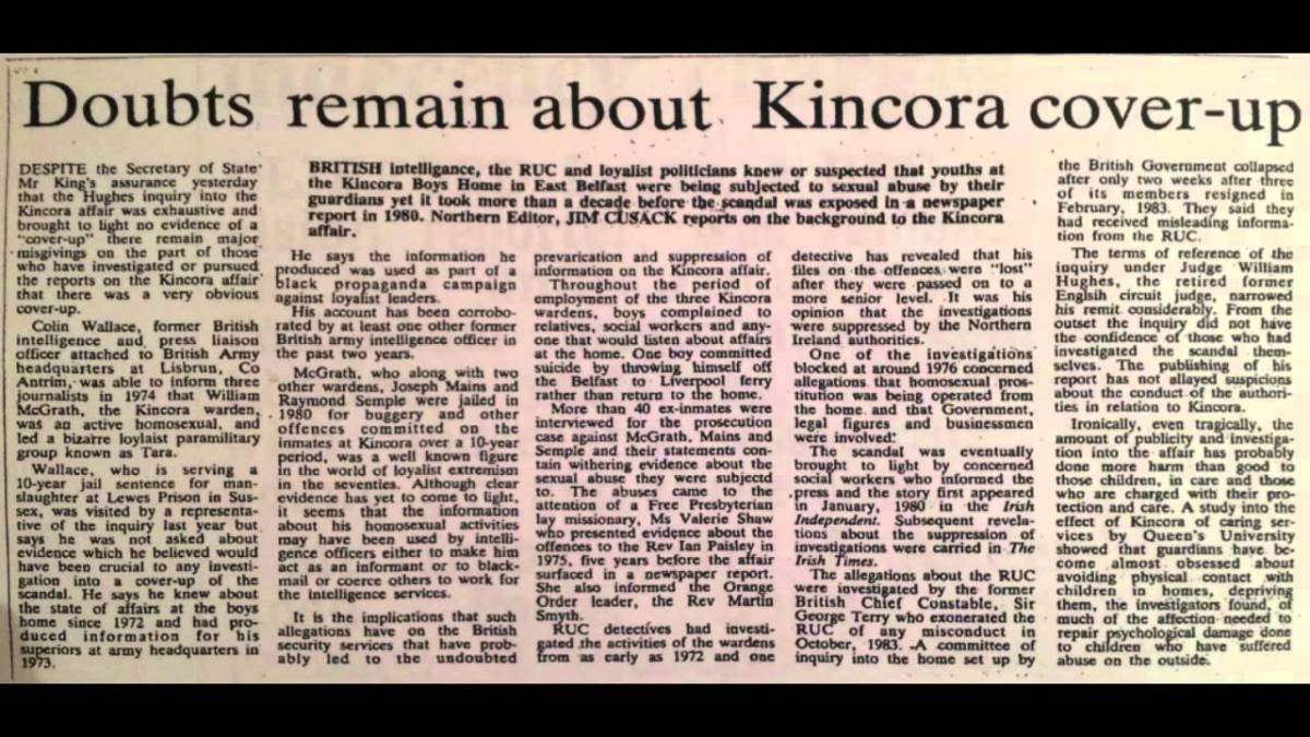 Kincora (Part 1): MI5 and the child abuse cover-up (video)