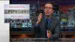 John Oliver migrants and refugees