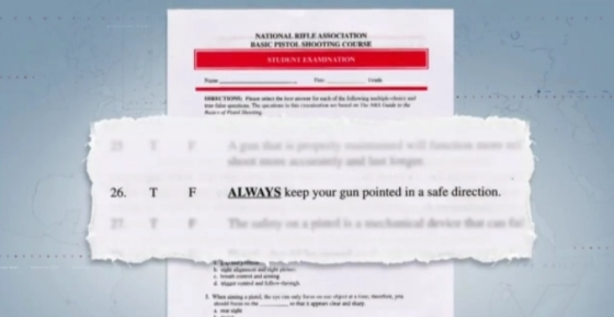NRA Gun questionnaire