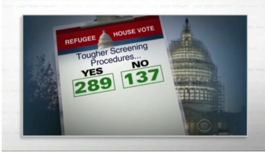 Refugee house vote
