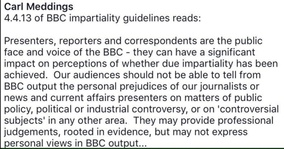 BBC impartiality guidelines bbc bias