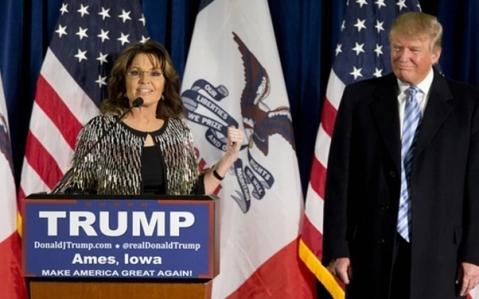 Trump Palin Iowa