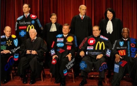 SCOTUS has regularly split 5 to 4 in favour of Republican party supported interpretations of the US constitution