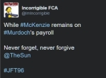 While Kelvin McKenzie bever forget never forgive the sun jft96