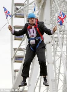 Boris on a wire