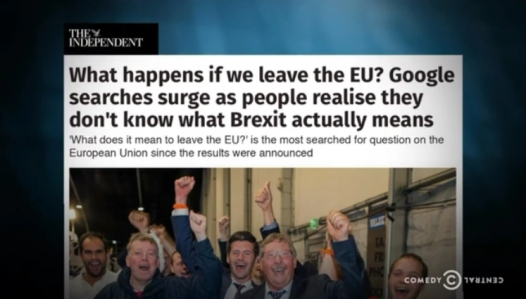What happens if we leave the EU headline