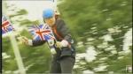 Boris Johnson zip wire