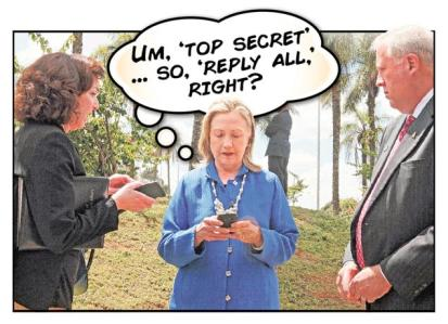 clinton top secret