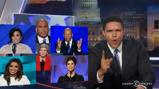 Daily Show trevor noah DNC
