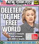 deleter of the free world clinton email