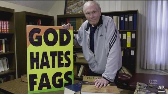 God hates Fags RNC sam bee