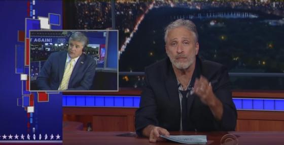 Jon Stewart Sean Hannity