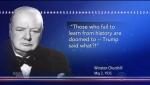 Churchill trump said what